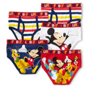 Disney Mickey Mouse 5-pk. Briefs - Boys 2-8