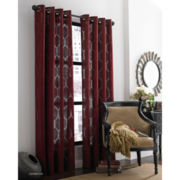 Queen Street Hamilton Grommet-Top Curtain Panel