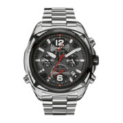 Bulova® Precisionist Mens Stainless Steel Chronograph Watch