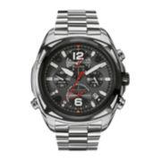 Bulova® Precisionist Mens Stainless Steel Chronograph Watch
