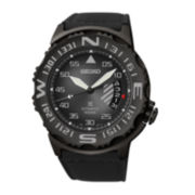 Seiko® Prospex Limited Edition Mens Black Compass Automatic Watch SRP579
