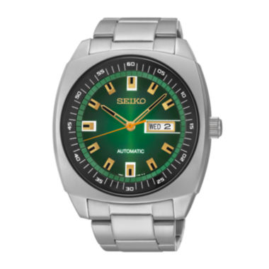 jcpenney.com | Seiko® Recraft Mens Stainless Steel Automatic Watch SNKM97