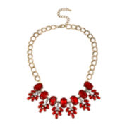 Bleu™ Red Cluster Necklace