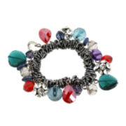 Bleu™ Multicolor Beads Stretch Bracelet