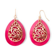 Mixit™ Gold-Tone Berry Teardrop Earrings