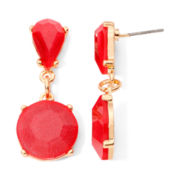 Mixit™ Gold-Tone Berry Double-Drop Earrings