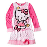 Hello Kitty® Sketch Dorm Sleep Shirt - Girls 4-10