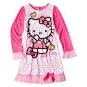 Hello Kitty® Sketch Dorm Sleep Shirt - Girls 4-10