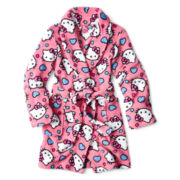 Hello Kitty® Dart Heart Robe - Girls 4-10
