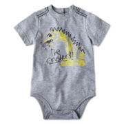Okie Dokie® Short-Sleeve Graphic Bodysuit – Boys newborn-9m