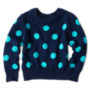 Arizona Dot Sweater - Girls 2t-6