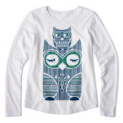 Arizona Long-Sleeve Holiday Graphic Tee - Girls 6-16 and Plus