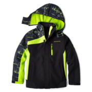 Weatherproof® 2-in-1 Hooded Systems Jacket – Boys 6-20