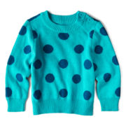 Arizona Crew Neck Sweater - Girls 3m-24m