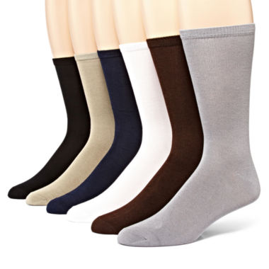 jcpenney.com | MUK LUKS® 6-pk. Men's Dress Socks
