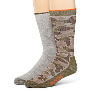 jcpenney.com | Wolverine® 2-pk. Merino Wool Blend Boot Socks