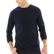 Stafford® Performance Long-Sleeve Heavyweight Tee–Big & Tall