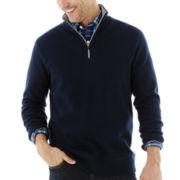 St. John's Bay® Quarter-Zip Plush Fleece Pullover