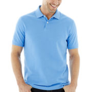St. John's Bay® Short-Sleeve Piqué Polo