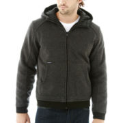 Zero Xposur® Hooded Reversible Sweater Jacket