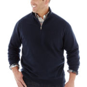 Dockers® Quarter-Zip Fleece Shirt–Big & Tall