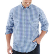 Dockers® Plaid Button-Front No-Wrinkle Shirt–Big & Tall