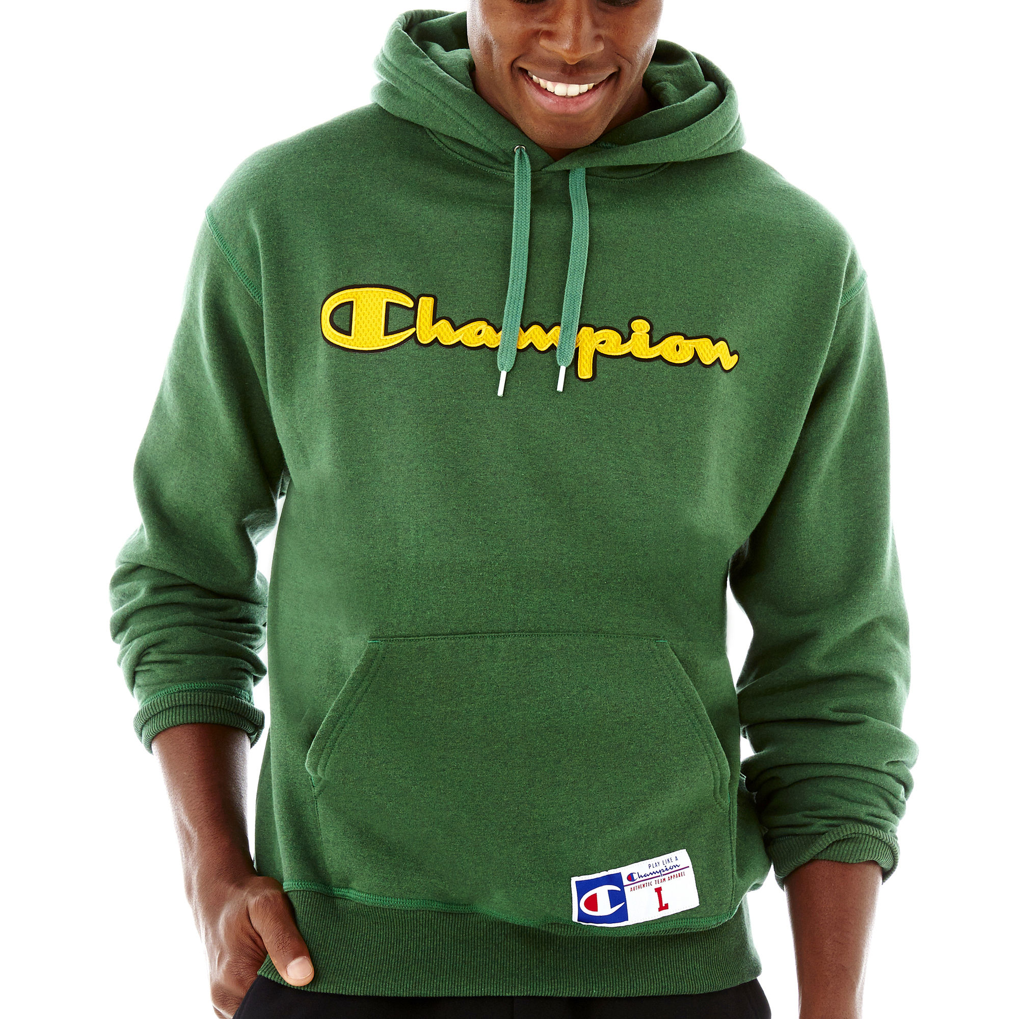 UPC 078715311742 - Champion Graphic Fleece Pullover Hoodie ...