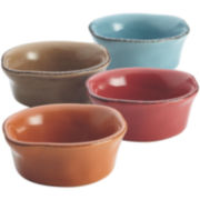 Rachael Ray® Cucina 4-pc. Stoneware Dipping Cup Set