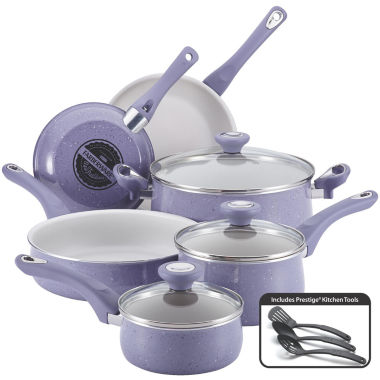 jcpenney.com | Farberware® New Traditions 12-pc. Speckled Aluminum Nonstick Cookware Set