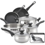 Farberware® New Traditions 12-pc. Stainless Steel Cookware Set
