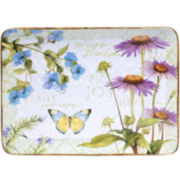 Certified International Herb Garden Rectangular Serving Platter