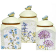 Herb Garden 3-pc. Canister Set