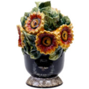 French Sunflowers Cookie Jar