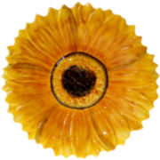 French Sunflowers Serving Platter