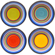 Tequila Sunrise Set of 4 Dinner Plates