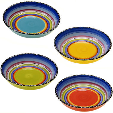 jcpenney.com | Tequila Sunrise Set of 4 Soup Bowls