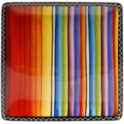 Tequila Sunrise Square Serving Platter