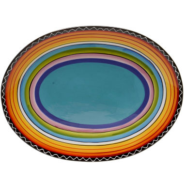 jcpenney.com | Certified International Tequila Sunrise Oval Serving Platter