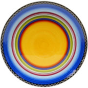 Tequila Sunrise Round Serving Platter