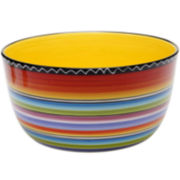 Tequila Sunrise Deep Serving Bowl
