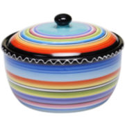 Certified International Tequila Sunrise Bean Pot