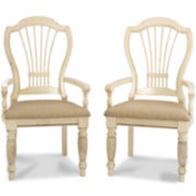 Meadowbrook Set of 2 Armchairs