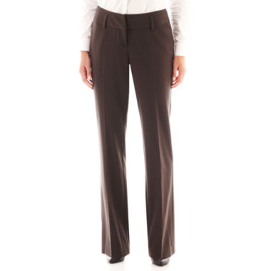 jcpenney.com | Worthington® Curvy Fit Straight-Leg Trouser Pants - Tall