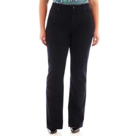 Liz Claiborne Classic-Fit Bootcut Jeans - Plus