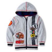 Disney Collection Cars Zip-Front Fleece Jacket – Boys 2-10