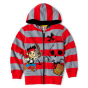 Disney Jake and the Neverland Pirates Zip-Front Fleece Jacket – Boys 2-10