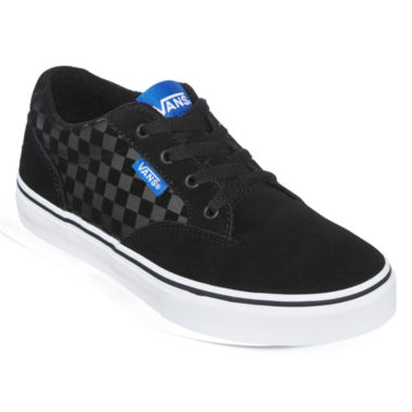 jcpenney.com | Vans® Winston Check Boys Skate Shoes - Big Kids