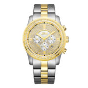 JBW Mens Gold Two Tone Bracelet Watch