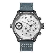 JBW Mens White Gray Bracelet Watch