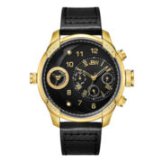 JBW Mens Black Black Bracelet Watch